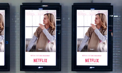 NETFLIX - Campagne de communication GIF