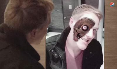 Monster Mirror | Halloween Prank Pepsi Max