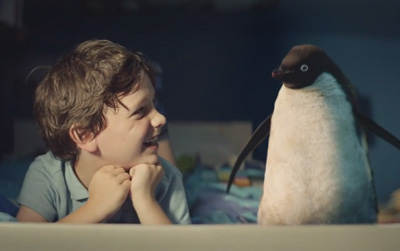 John Lewis Christmas Advert 2014 - #MontyThePenguin