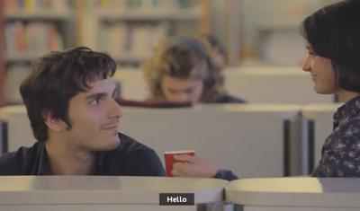 The Hello Experiment – A social study by Nescafé