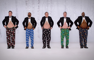 Jingle Bellies | Kmart Joe Boxer Commercial 2014 #ShowYourJoe