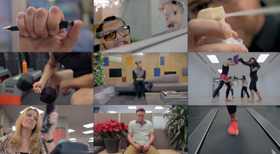 Klick Epic Holiday Office Remix with Andrew Huang