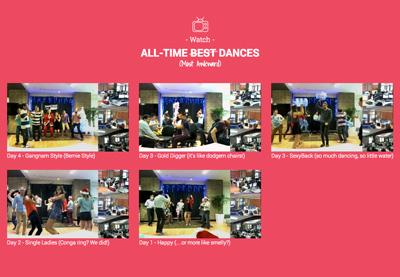 Adrenalin Media - Dancing for UNICEF!
