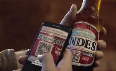 Message in a bottle – Cerveza Andes
