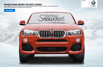 BMW Snowchat