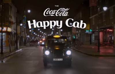 The Coca-Cola Happy Cab
