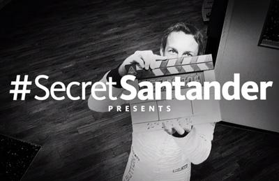 #SecretSantander