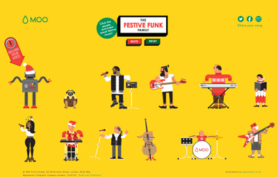 The Festive Funk Family!