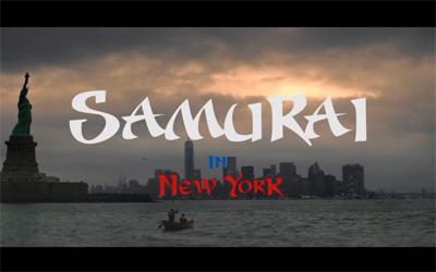 ニューヨーク/サムライ カップヌードルCM 「SAMURAI-K 篇」
