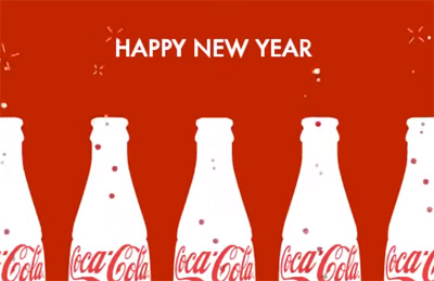 Coca-Cola Happy New Year - India