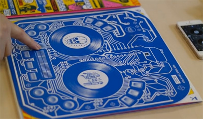 Novalia Printed MIDI for DJ QBert's Album cover