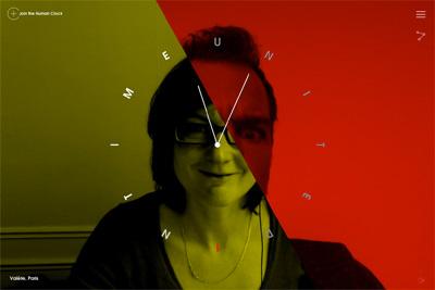 TEDxAmsterdam Human Clock