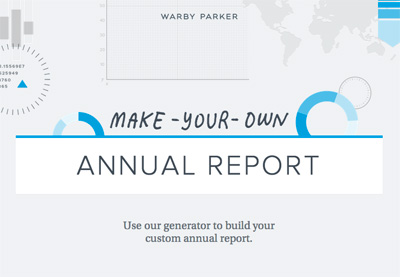 2014 Make-Your-Own Annual Report