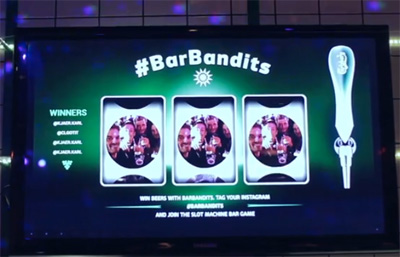 #BarBandits by Carlsberg