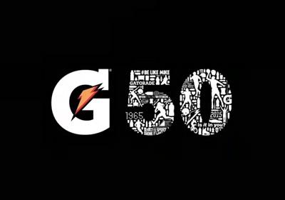 50 YEARS OF GATORADE. 50 MEMORABLE MOMENTS.