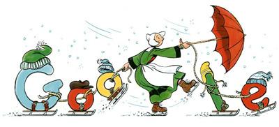 Google フランスの絵本Bécassine(べカシーヌ)出版110周年記念ロゴに!