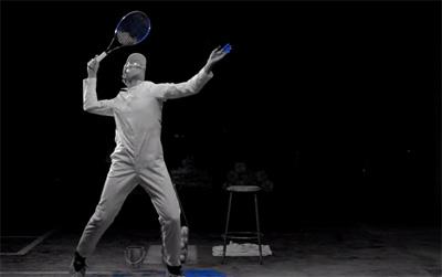 Tennis Practice with Milos Raonic - Canada Goose