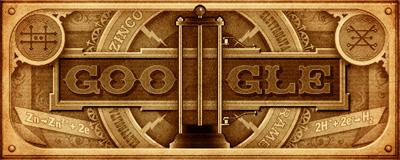 Google 電圧の単位の由来となったアレッサンドロ・ボルタ生誕270周年記念ロゴに!