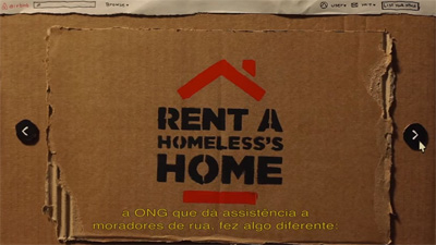 Rent a Homeless's Home