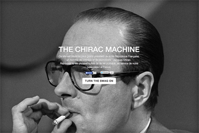 THE CHIRAC MACHINE - The Chirac Generator