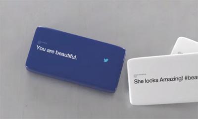Dove+Twitter: #SpeakBeautiful