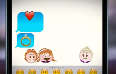 Frozen as told by Emoji | Disney