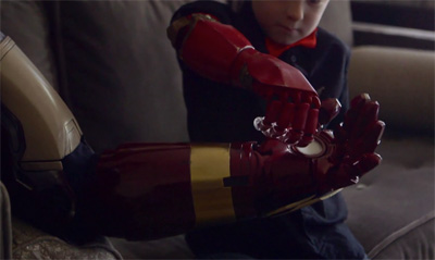 The Collective Project: Robert Downey Jr. Delivers a Real Bionic Arm