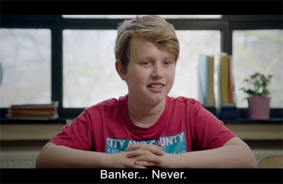 Children's truth about banking