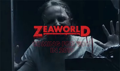 The end of Seaworld introducing Zeaworld