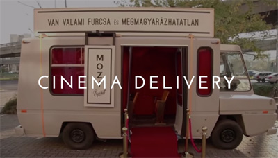 For Some Inexplicable Reason: Cinema Delivery