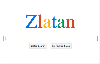 Zlatan Search