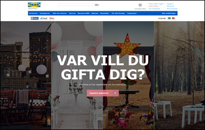 Wedding Online(Bröllop Online) - IKEA