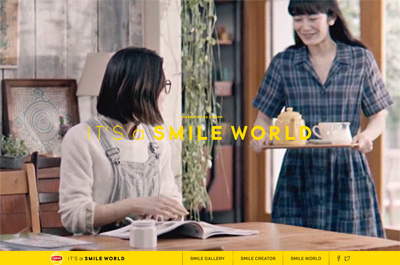 IT'S a SMILE WORLD | Lipton