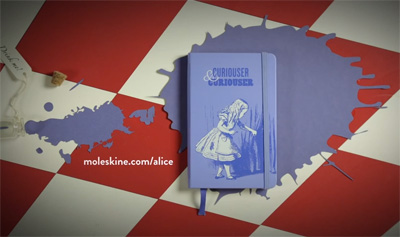 Moleskine Alice's Adventures in Wonderland Limited Edition Collection