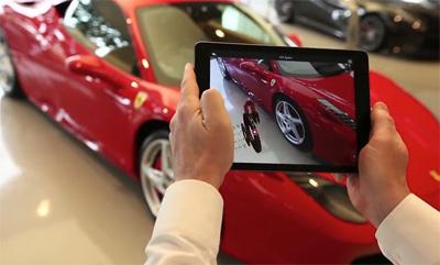 Ferrari Augmented Reality Showroom