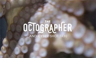 The Octgrapher - World's first Octopus photographer
