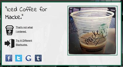 What's My Starbucks Name?