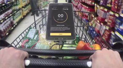 Healthy Shopping Cart by Walmart