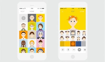 グルーヴィジョンズの代表作「chappie」iPhoneアプリのリリース応援プロジェクト
