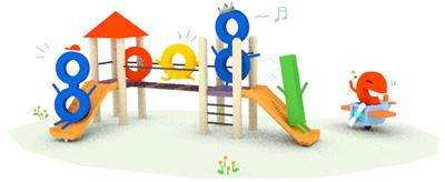 Google こどもの日を記念したロゴに!