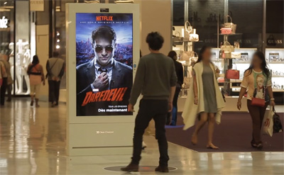 Marvel's Daredevil - Interactive Digital OOH