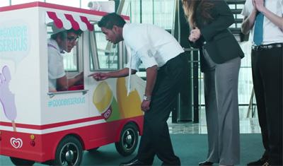 The Office Ice Cream Truck