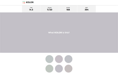 KOLOR - Color Guessing Free Game
