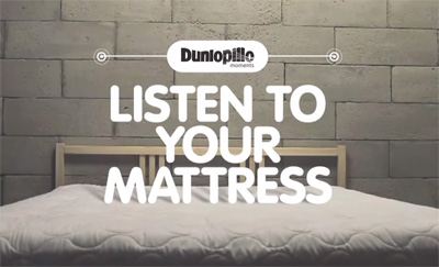 Dunlopillo Listen To Your Mattress