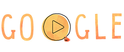 Google 母の日で、母と子のかわいいGIFアニメロゴに!