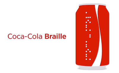 Coca-Cola Braille
