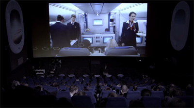LOT Business Class // Ambient in the cinema