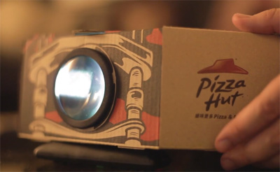 Pizza Hut - Blockbuster Box