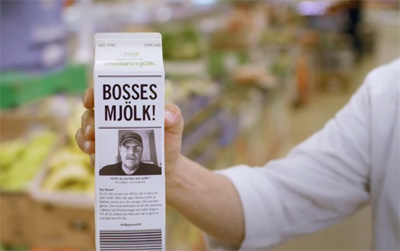 Lidl bosses milk