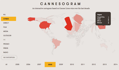 Cannes Data Map